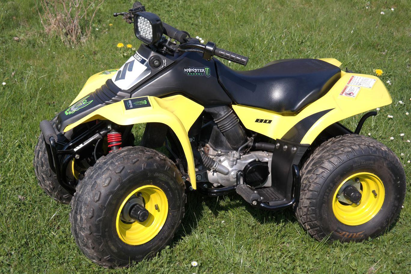 Kinderquad Suzuki LT 80 gelb